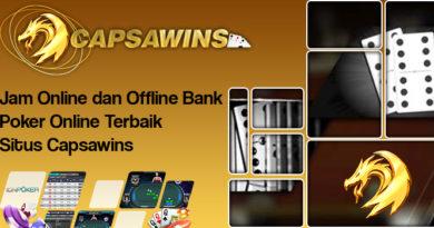 Jam Online dan Offline Bank Poker Online Terbaik Situs Capsawins