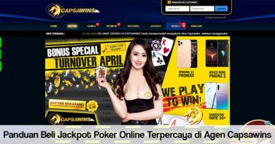 Panduan Beli Jackpot Poker Online Terpercaya di Agen Capsawins