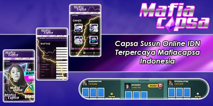 Capsa Susun Online IDN